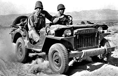 Jeep Ecuador - Jeep de guerra (2)