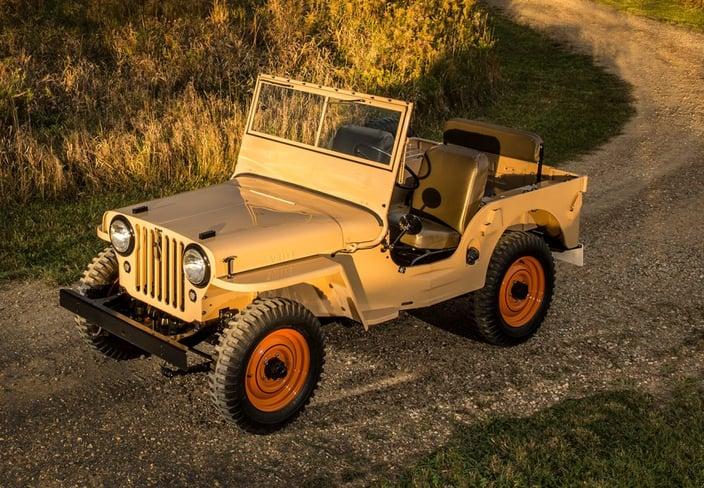 Jeep Ecuador - Jeep de guerra
